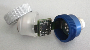 masurement adapter with integrated electronic